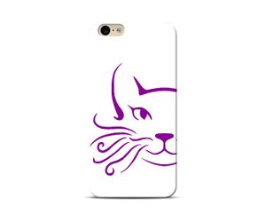 Purple Whiskers Phone Case