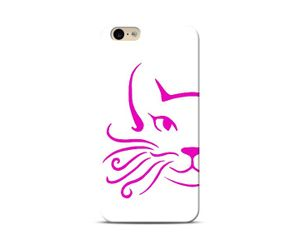 Pink Whiskers Phone Case