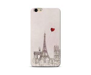 Paris Red Heart Phone Case