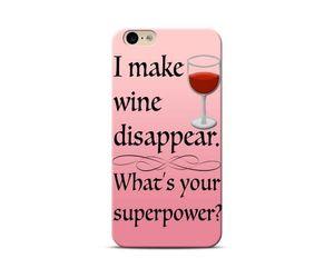 Superpower: Wine Phone Case