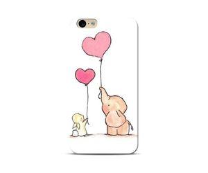 Elephant And Rabbit Love Phone Case