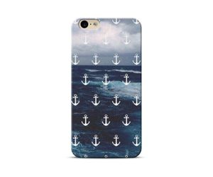 Blue Anchor sea Phone Case