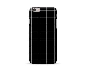 Black Lattice Phone Case