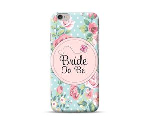 Floral Bride To Be Phone Case