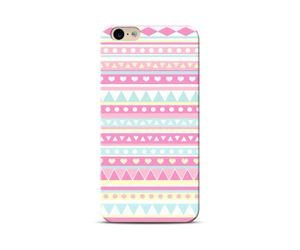 pastal pink aztec Phone Case