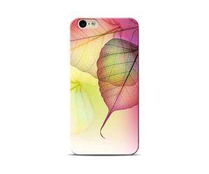 pink leaf Phone Case