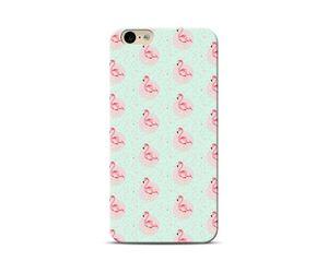 Flamingo polka Phone Case