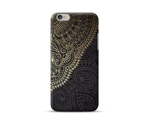 Golden Carving Phone Case
