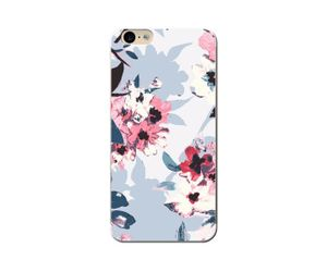 Grey Floral Phone Case
