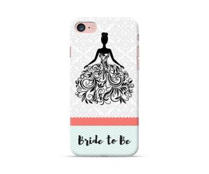 Bride To Be-White dress Phone Case