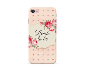 Bride to be: Floral Polka Phone Case