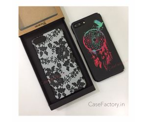 Black lace // Freedom dreamcatcher Phone Cases