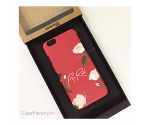 Custom name on Floral phone case