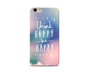 Think happy be happy Phone Case