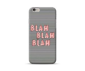 Monochrome Blah Blah Phone Case