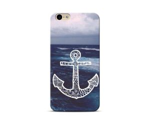 Anchor and sea Phone Case
