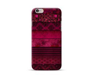 Black Floral Pattern Phone Case