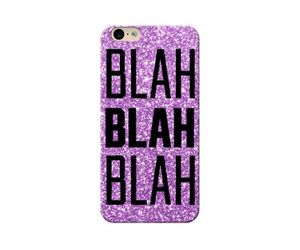 Blah Blah Phone Case