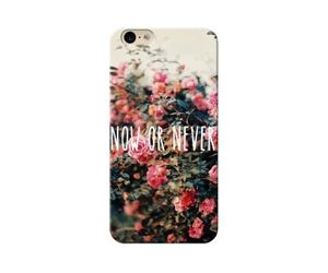 Now or Never Phone Case