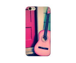 Pink Guitar Phone Case