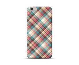 Diagonal Checks Phone Case