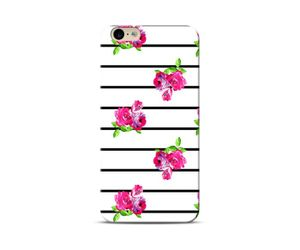 floral stripes Phone Case