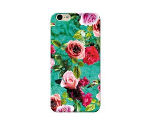 Rose Floral Green Phone Case