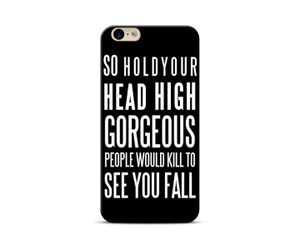 Hold your head high Phone Case