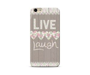 Live love laugh-Brown Phone Case