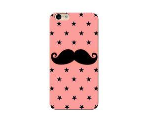 Pink-Moustache Phone Case