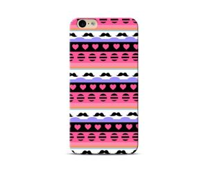 Mustache and Hearts Phone Case