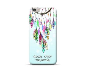 Never Stop Dreaming Dreamcatcher Phone Case