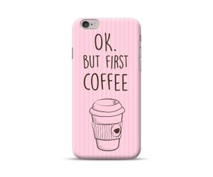Ok But First Coffee-Pink awesome Phone Case