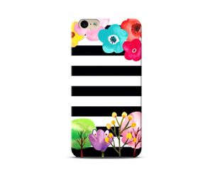 Painting on a stripes Phone Case