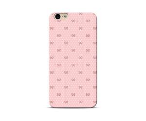 Peach Bow Phone Case