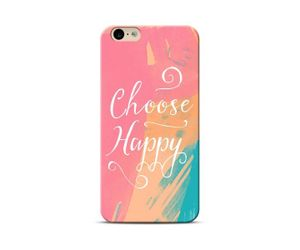 I Choose Happy Phone Case