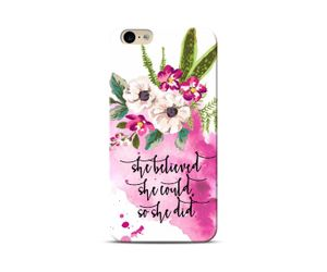 She believed-She did Phone Case