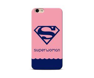 Superwoman pink Phone Case