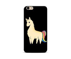 Black Unicorn Phone Case