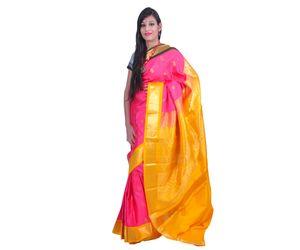 Kanchipuram Silk kanchi kuttu border design