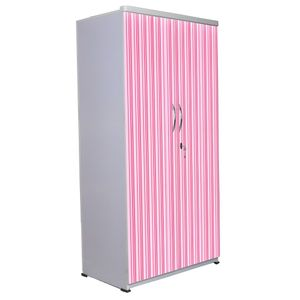 2 Door Wardrobe - Frenzy Stripes