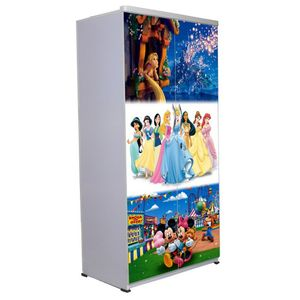 2 Door Wardrobe - Disney Combo