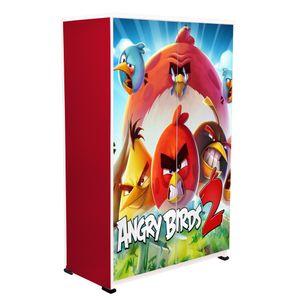 BigSmile Kids Wardrobe - Angry Birds