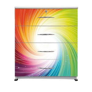 BigSmile Chest of Drawer - Color Twister