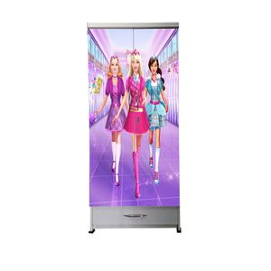 BigSmile Kids Wardrobe - Pretty Princess (5.5ft x 2.5ft) Glossy Finish