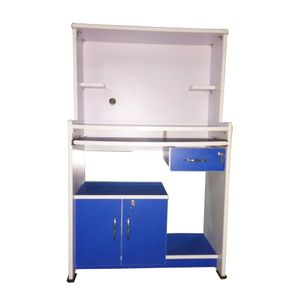BigSmile Study Table - Cyber Blue