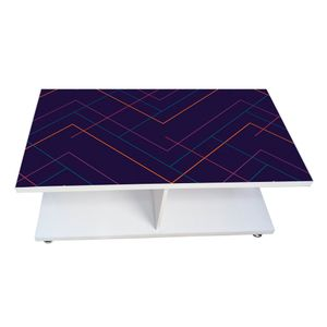 Coffee Table - Blue Ray (Glossy Finish)
