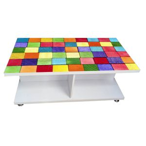 Coffee Table - Color Blocks (Glossy Finish)