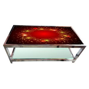 Glass Table - Crackers