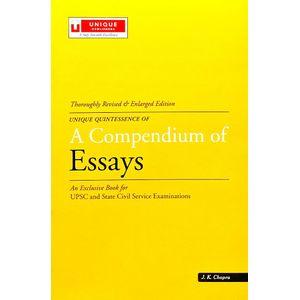A Compendium Of Essays By J K Chopra-(English)